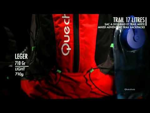 b504982a9a Diosaz 17L Mountain Running Backpack - Quechua. - YouTube