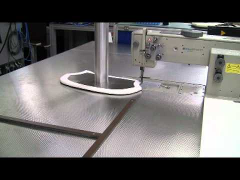 KSL KL40 Robot Sewing YouTube New Robotic Sewing Machine