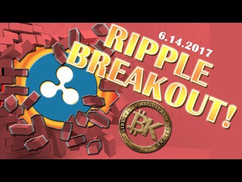 RIPPLE BREAKOUT! 🤑 Bitcoin Price Analysis JUNE 13 2017 | 2710 USD | Cryptocurrency Ethereum BTC XRP