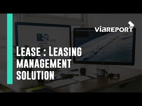 LEASE, Leasing management Solution