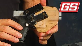 Lenny shows off holsters for the G43, G43x & G48… a GS exclusive