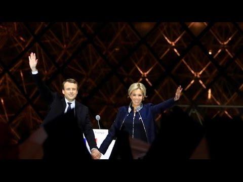 Macron & Brigitte