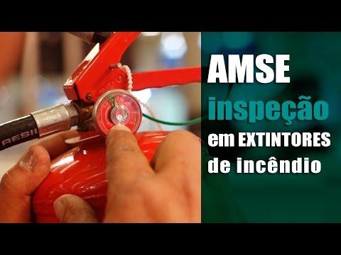 AMSE - Inspeção em Extintores de Incêndio