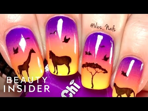 Nail Artist Is A Stamping Master