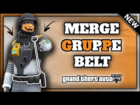 GTA5 I *NEW* GRUPPE BELT OUTFIT GLITCH! (Rare Modded Belt) MALE ONLY! (Patch 1.50)