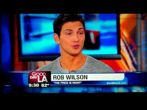 FIRST INTERVIEW ROB WILSON PRICE is RIGHT MALE MODEL from Boston Mass  10-12-2012