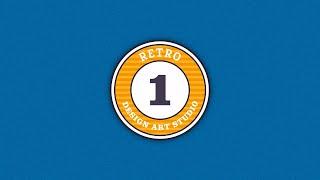 Retro Badge Logo Design Affinity Designer Tutorial