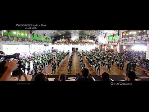 WR Family Day 2017: Green Valkyries