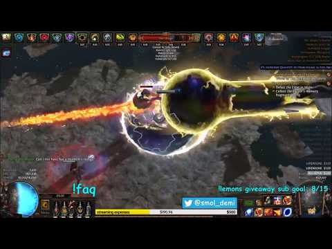 [3.2] 1.5M+ DPS Low Life Righteous Fire/Scorching Ray Ascendant Build Guide: BURN EVERYTHING | Demi