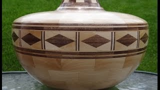 Making A Segmented Vessel With Diamond Feature Ring   Part 5 Of 9