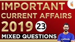 1:00 PM - RRB Group D 2019 | Current Affairs by Bhunesh Sir | Mix Questions (23)