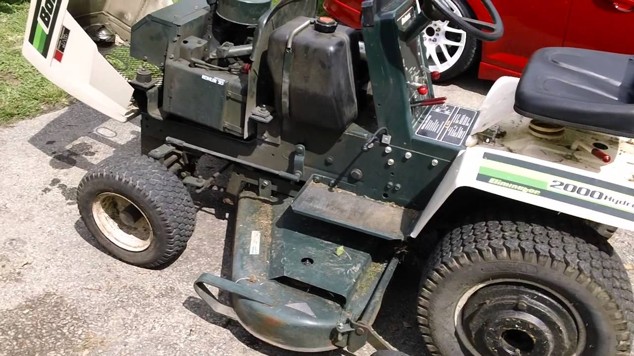 Mtd Tractor 1600 : Bolens lawn tractor funnydog tv
