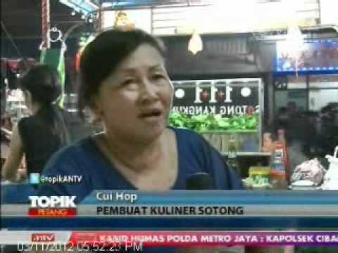 TOPIK ANTV Kuliner Singkawang, Sotong Kangkung dan Pangkung
