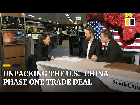 Unpacking the 'phase one' deal for the US-China trade war