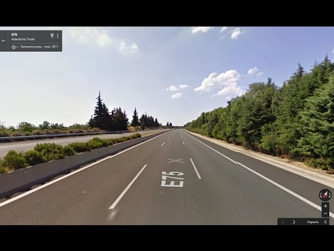 Часть 29. Дорога  Салоники - Ларисса. Part 29. Road  Thessaloniki - Larissa