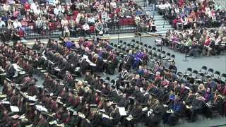 WF 2014 Graduation Ceremony - Arts & Sciences and Business
