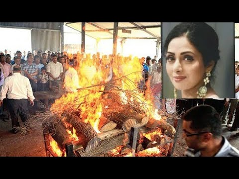 Sridevi funeral in Mumbai full video RIP🙏🙏🙏