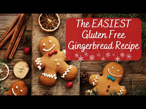 Gluten Free Gingerbread Cookies | How To Make Gingerbread Cookies | Gluten Free Christmas Cookies