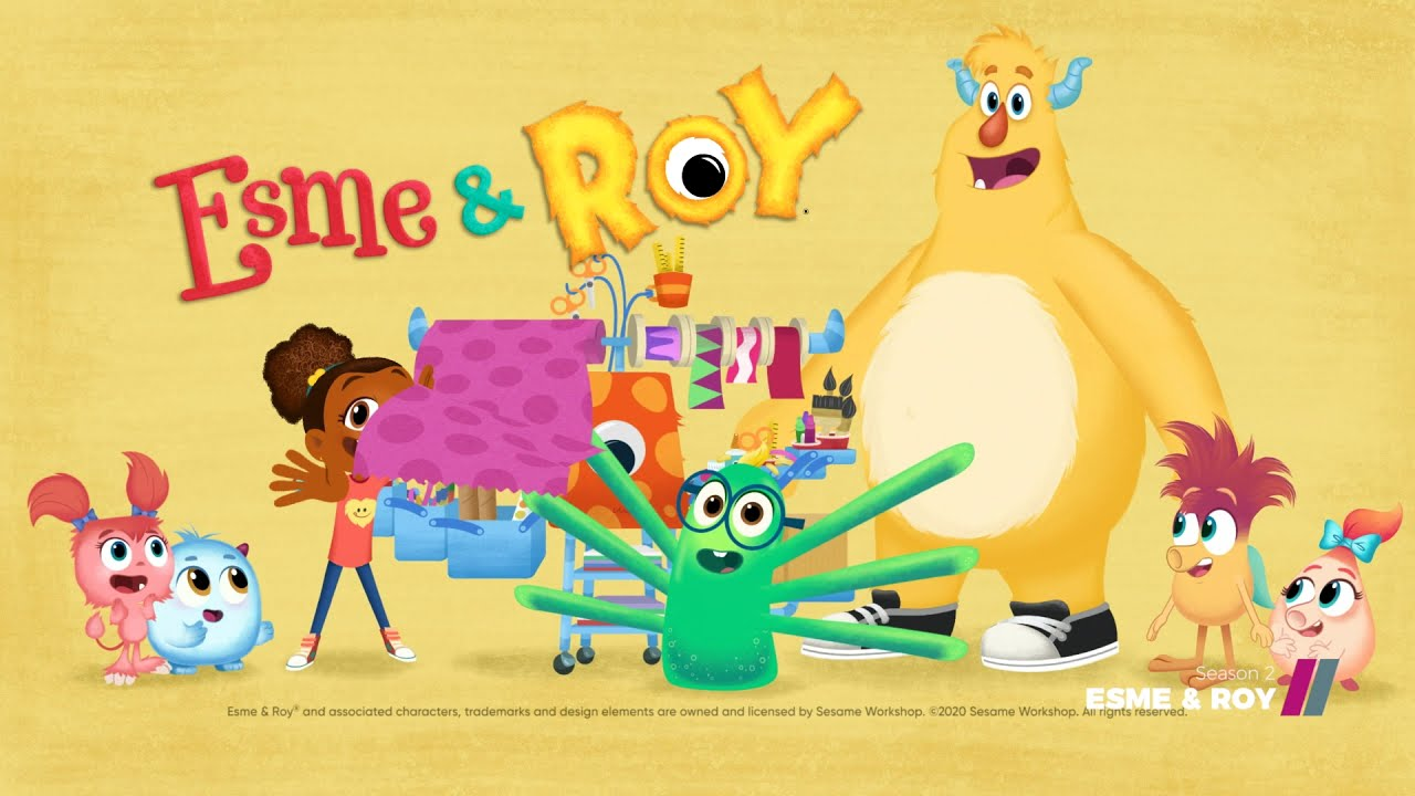 Download Monster-y fun a new season of Esme and Roy | Kids' stuff on Showmax