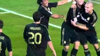 Malaga vs Real Madrid 0-4 La Liga BBVA 2011/2012 HD