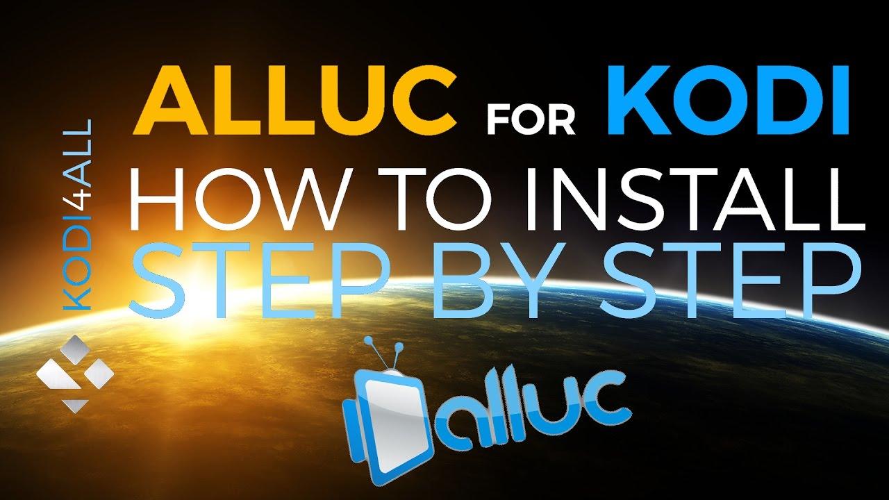 how to add alluc to kodi 17.4