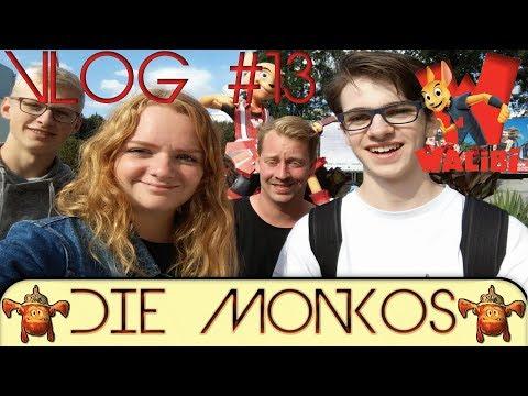 Walibi Holland 2017   Monko Vlog #13   Die Monkos