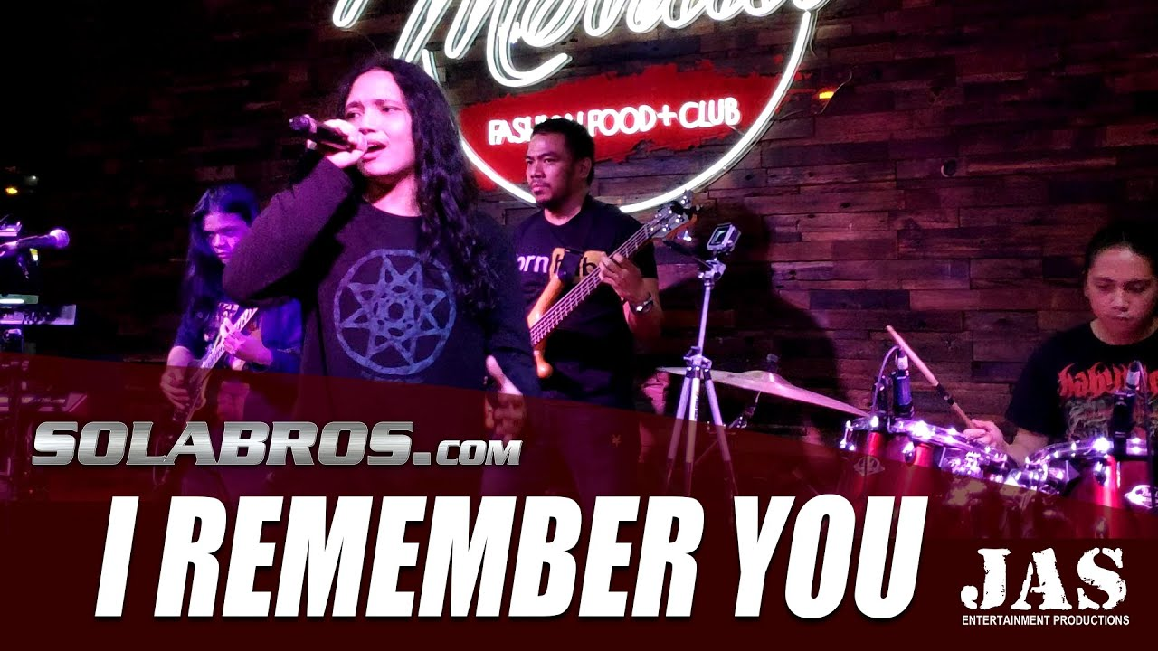 I Remember You - Skid Row (Cover) - Live At Movida Fashion Food + Club