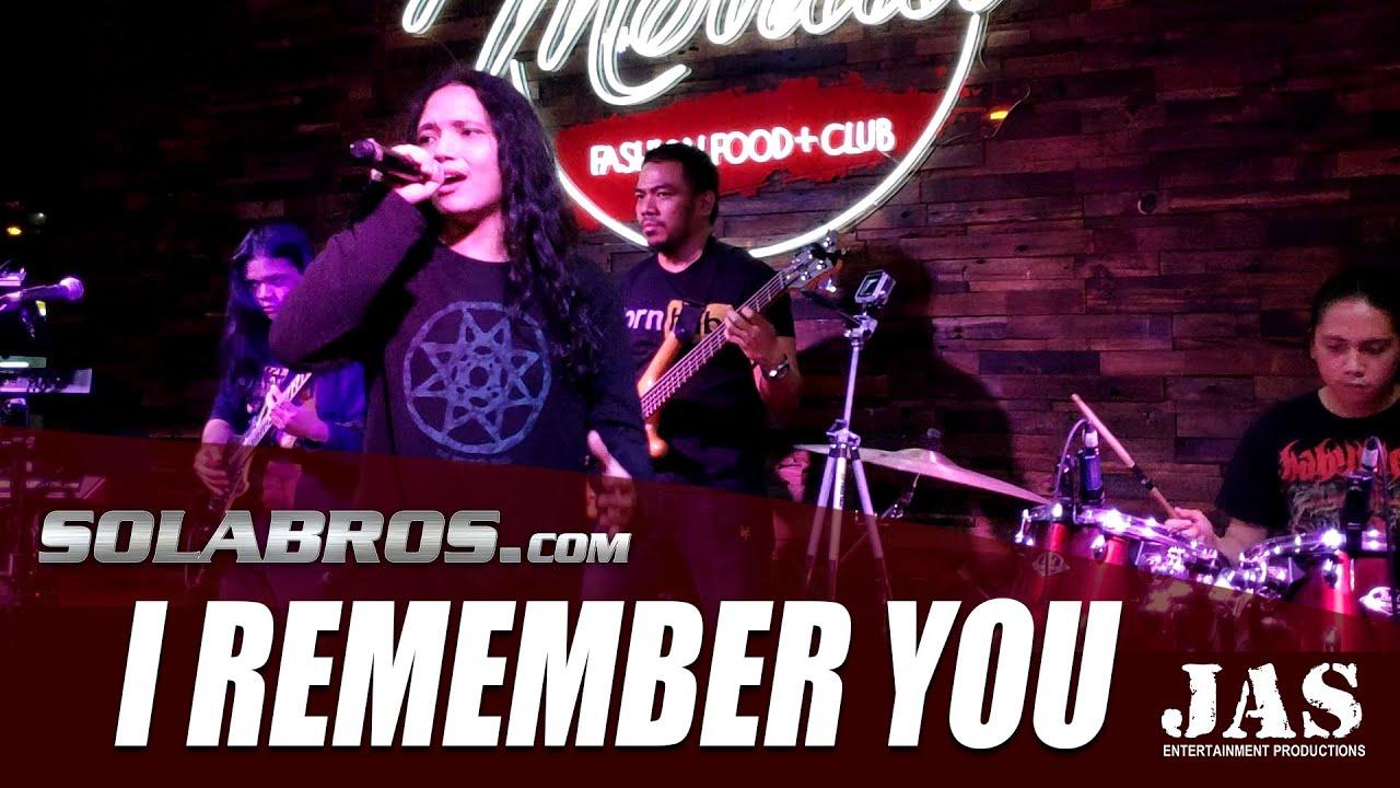 I Remember You - Skid Row (Cover) - Live At Movida Fashion Food + Club