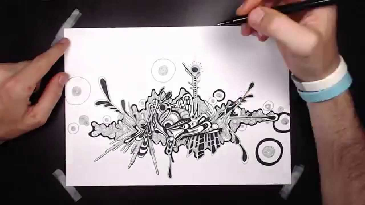 How To Draw Abstract Graffiti Style