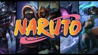 League of Legends - Naruto (Zed,Kennen,Shen,Akali and rammus)