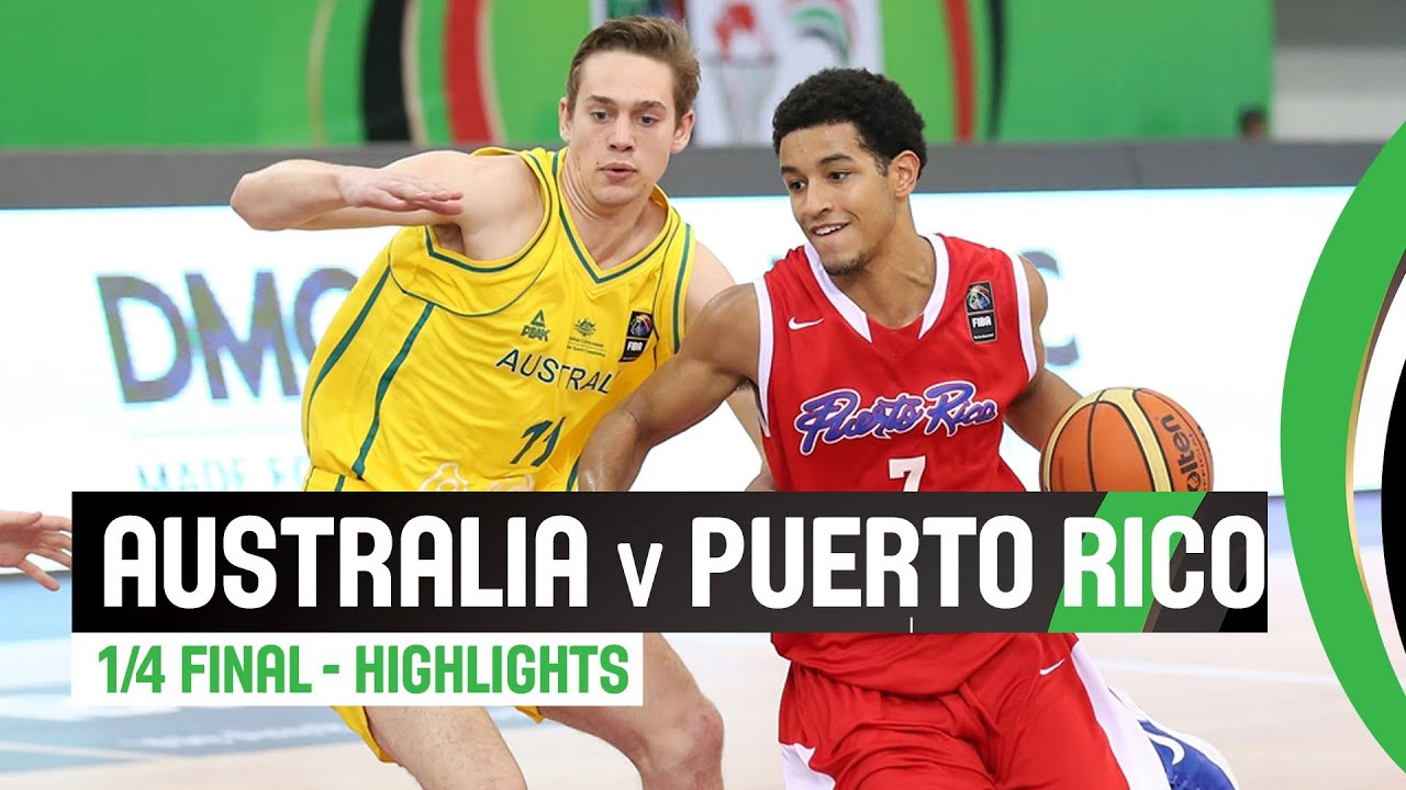Australia v Puerto Rico - Quarter Final Highlights