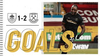 GOALS | BURNLEY 1-2 WEST HAM UNITED
