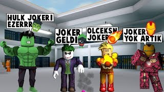 63 IN SUPERHEROISM. DAY WILDCARD BATTLES HEROES / Roblox English / MadCity Roleplay