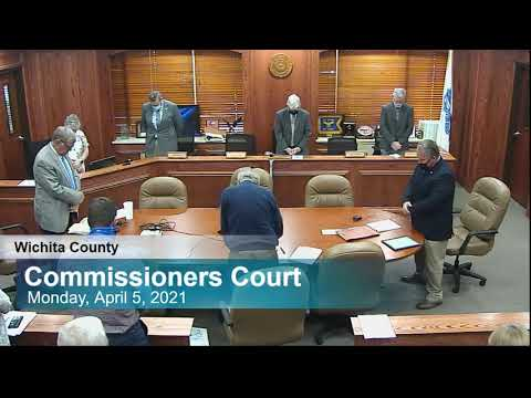 Commissioners Court 4/5/2021