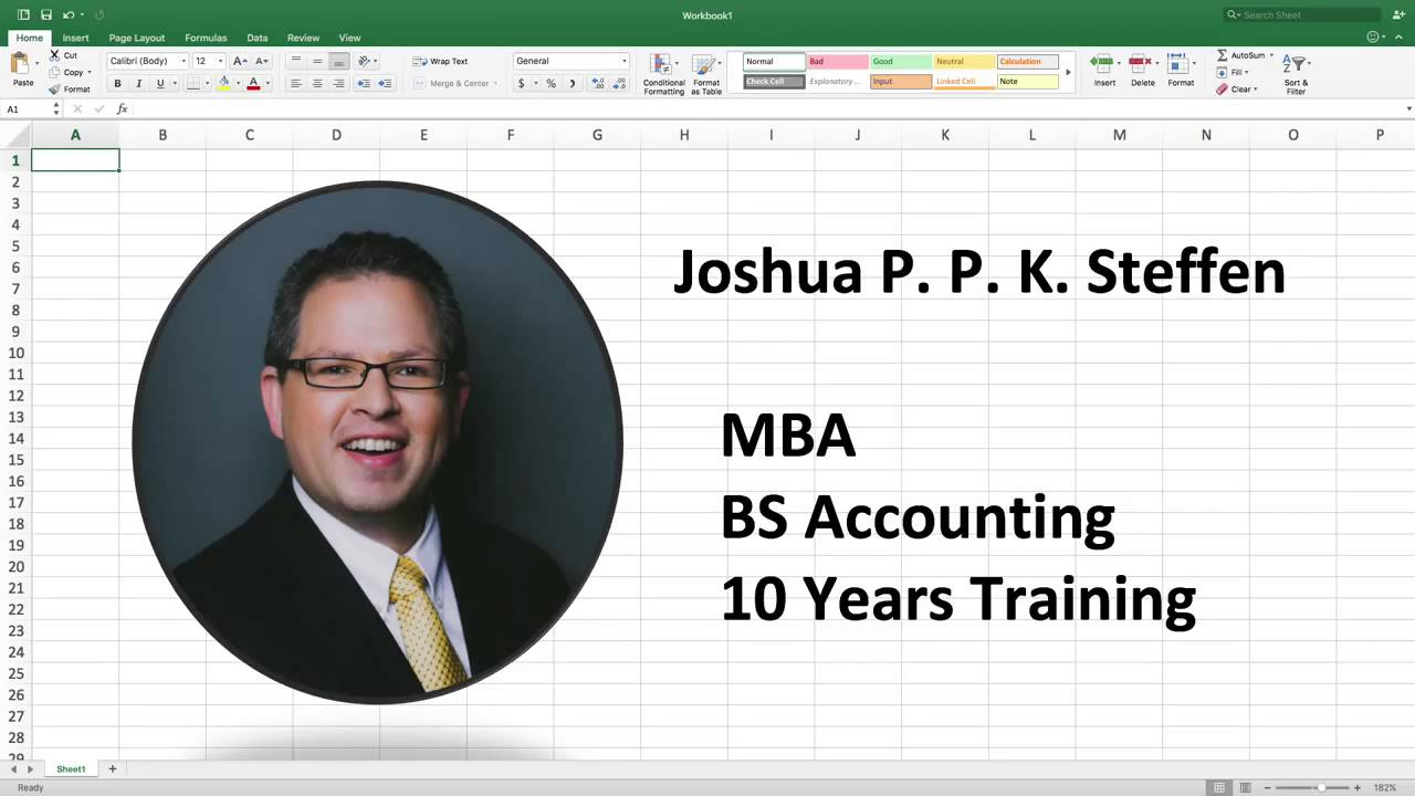 Advanced Ms Excel Certification Online Course Youtube