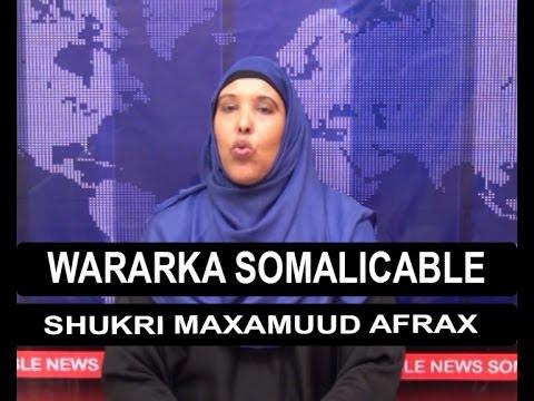 WARARKA SOMALI CABLE IYO SHUKRI AFRAX 12 03 2016