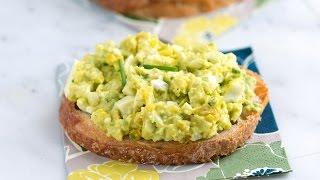 Easy Avocado Egg Salad Recipe - How to Make Avocado Egg Salad