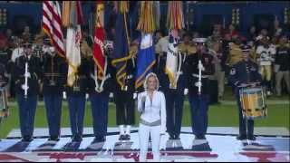National Anthem-Carrie Underwood [Super Bowl 2010]