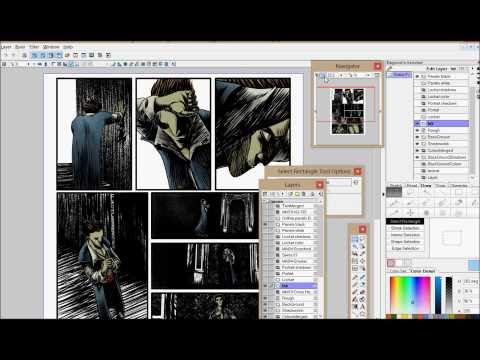 15 STEPS TO MAKE A DIGITAL COMIC PAGE