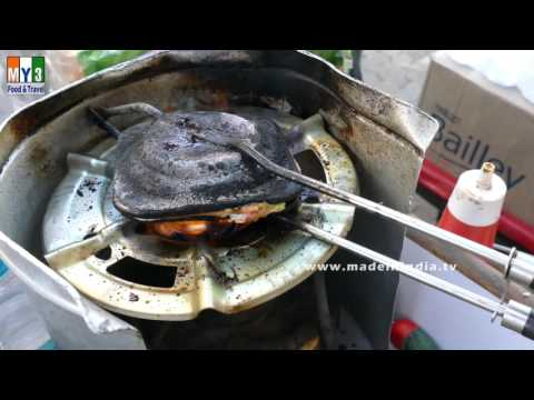 Veg Masala Toast Sandwich Recipe | Veg Recipes Of India Street Food