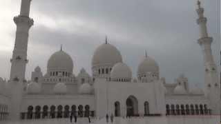 Abu Dhabi, United Arab Emirates - Sheikh Zayed Grand Mosque HD (2013)