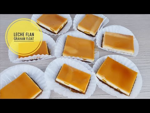 Leche Flan Graham Float | Custard recipe (easy recipe)