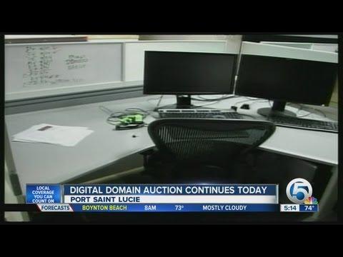 Digital Domain bankruptcy auction continues
