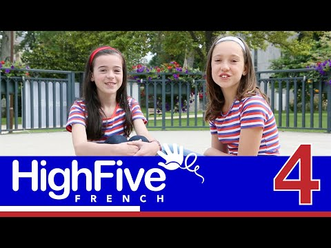 French for kids: talking about your age - High Five French Sample
