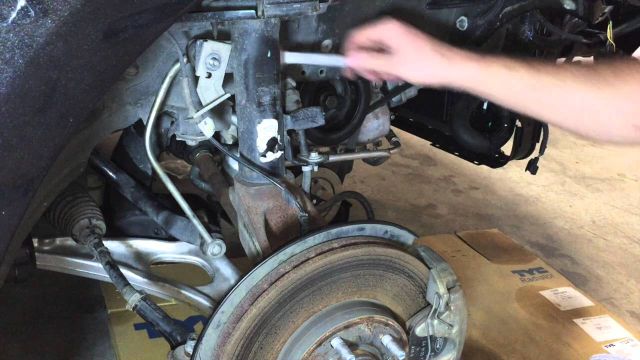 Ford Focus Sway Bar Link Replacement Youtube