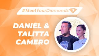 #MeetYourDiamonds Daniel and Talitta Camero