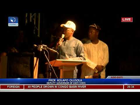 Ekiti Flyover: Eleka Assures Residents Of Continued Development