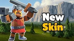 New Clockwork King Skin Gameplay for May Season ♥️ | Clash of Clans