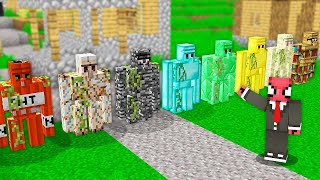FERİTED VS DEMİR GOLEMLER - Minecraft