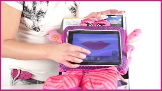Wise Pet. Мягкая игрушка Flora с прозрачным карманом для планшета (119 137)(Как получить скидку на это товар? Узнай на http://www.kupirebenku.ru/help/form_anketa.php., 2013-03-28T13:40:44.000Z)